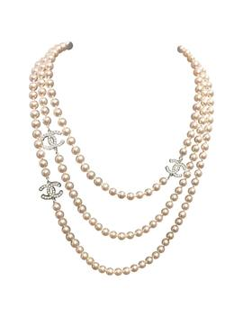 Pearls Long Necklace by Chanel