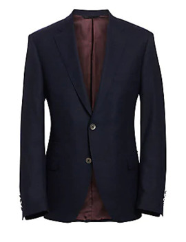 Collection By Samuelsohn Classic Fit Wool Travel Blazer by Saks Fifth Avenue