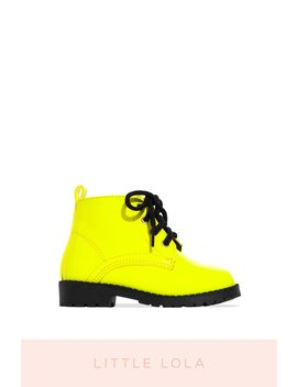 Amani   Neon Yellow by Miss Lola