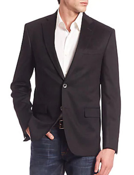 Collection Solid Cashmere Blazer by Saks Fifth Avenue