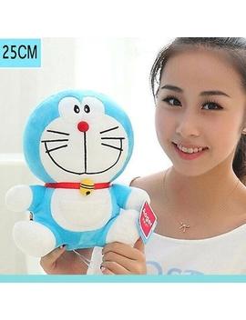 10inch Cute Plush Toy Soft Smile Doraemon Doll Stuffed Animal Funny Gift by Wish