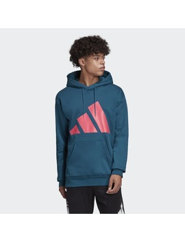 Adidas Athletics Pack Graphic Hoodie by Adidas