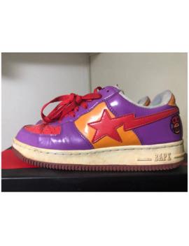 Bapesta Sneaker Purple Us8 by Bape  ×