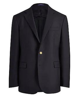 Rlx Tailored Wool Blazer by Ralph Lauren Purple Label