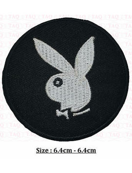<Span><Span>Playboy Bunny Iron On Patch Badge Logo , Pink Bunny Embroidered .Black White Red</Span></Span> by Ebay Seller