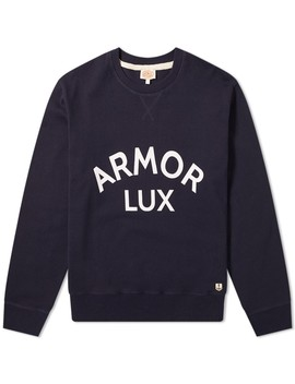 Armor Lux 76661 Logo Crew Sweat by Armor Lux