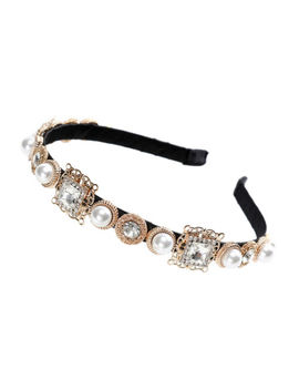 Baroque Ladies Jeweled Headband Crystal Embellished Hairband Hair Accessories by Ebay Seller