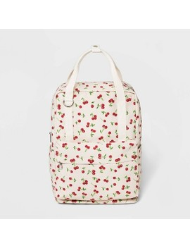 "<Span><Span>Cherry Print Canvas Square Backpack   Wild</Span><Br><Span>Fable Cream</Span></Span><Span Style=""Position: Fixed; Visibility: Hidden; Top: 0px; Left: 0px;"">…</Span> by Wild Fable Cream…"