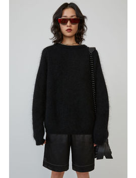 Pull Oversize Noir by Acne Studios