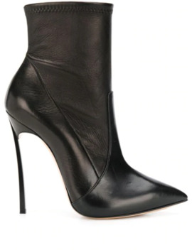 Stiletto Heel Pointed Toe Boots by Casadei