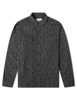 Ymc Feathers Leopard Jacquard Shirt by Ymc