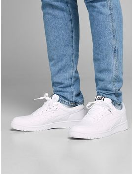 Asics Japan S Sneakers Granddad Long Sleeved T Shirt  Hidden Placket Jacket  Clark Original Jos 220 Regular Fit Jeans  Asics Japan S Sneakers by Jack & Jones