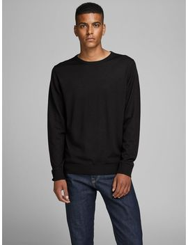 Merino Knitted Pullover Merino Knitted Pullover  Mike Royal R227 Rdd Comfort Fit Jeans  Leather Shoes by Jack & Jones