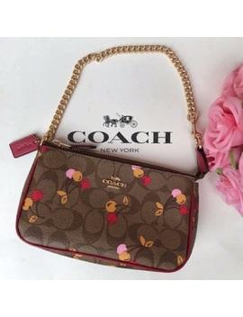 Nwt Coach | Large Wristlet Cherry Print Nwt/New by Coach