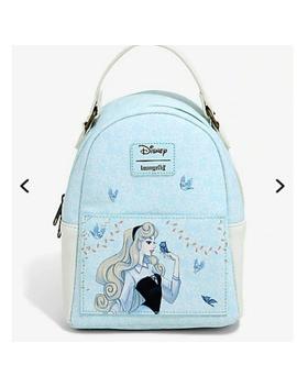 Disney Loungefly Sleeping Beauty Mini Backpack Nwt/New by Loungefly