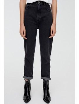 Mit Umgeschlagenem Saum   Jeans Straight Leg by Pull&Bear