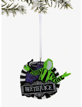 Beetlejuice Logo Ornament by Hot Topic