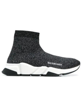 Speed Hi Top Sneakers by Balenciaga
