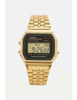 Casio A159 Wge Vintage Gold Watch by Casio