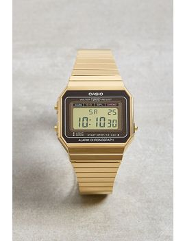 Casio A700 We Vintage Gold Watch by Casio