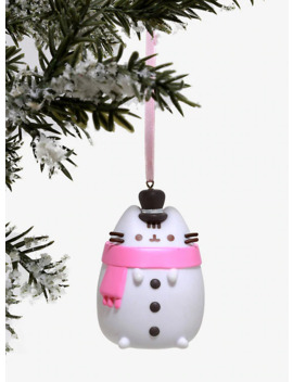 Pusheen Snowman Ornament by Hot Topic