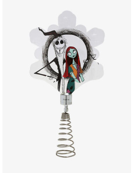 The Nightmare Before Christmas Light Up Tree Topper by Hot Topic