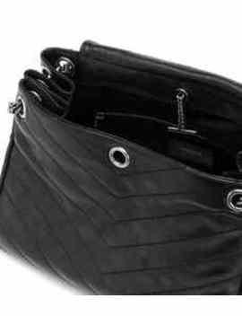 Medium Nolita Leather Shoulder Bag by Saint Laurent