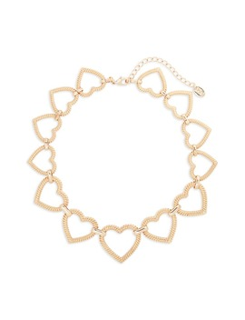 Heart Of Hearts Link Necklace by Stella + Ruby