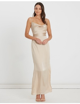 Lindsey Draped Maxi Dress by Chancery