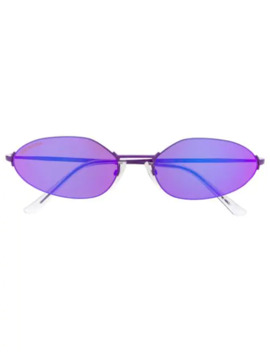 Oval Shaped Sunglasses by Balenciaga