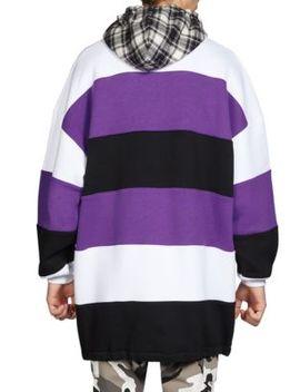 Patchwork Cotton Hoodie by Balenciaga