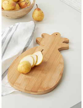 Pineapple Bamboo Serving Board by Simons Maison