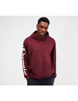 Hooded Sweatshirt | Maroon by Champion