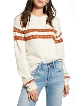 Stitch Stripe Pullover by Treasure & Bond