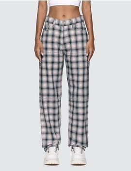 Benz Tartan Blush Jeans by Eytys