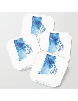 Rhode Island Coaster by Society6