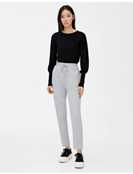 Joggers With Straight Cuffs by Pull & Bear