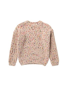 Chenil Confetti Sweater (Little Girls & Big Girls) by Elodie