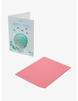 Shell Yea Mermaid Bath Bomb Greeting Card by Hot Topic