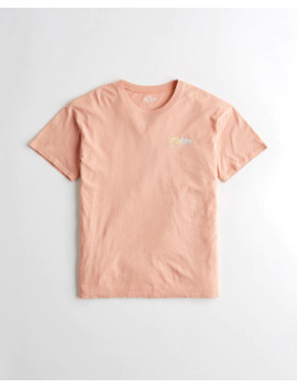 Oversized Graphic Tee by Hollister
