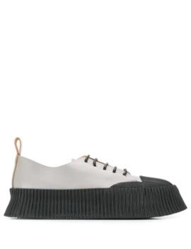 Sneakers Mit Gerippten Details by Jil Sander
