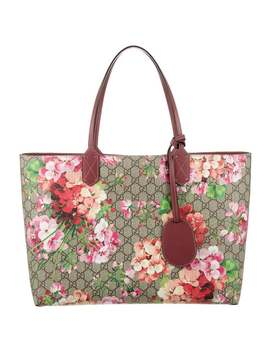 Medium Reversible Gg Blooms Tote by Gucci