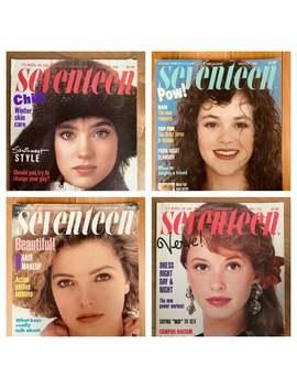1986 1988 Seventeen Magazines • Jennifer Connelly Rebecca Schaeffer River Phoenix Milli Vanilli Madonna • Vintage Magazines • Vintage Ads by Etsy