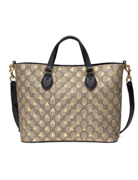 Gg Supreme Bees Tote by Gucci