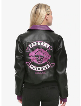 Riverdale Pretty Poisons Faux Leather Girls Jacket by Hot Topic