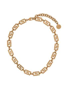Grecamania Necklace by Versace
