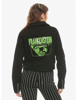 Universal Monsters Frankenstein Girls Moto Jacket by Hot Topic