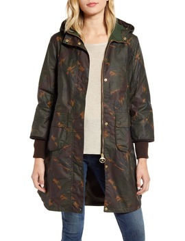 Featherwood Warbler Wax Cotton Coat by Barbour