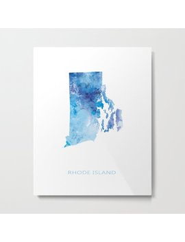 Rhode Island Metal Print by Society6