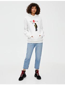 It Balloon Sweatshirt by Pull & Bear
